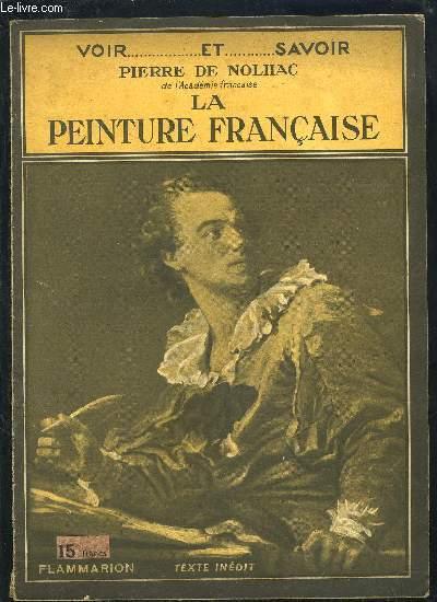 LA PEINTURE FRANCAISE- COLLECTION VOIR...ET SAVOIR