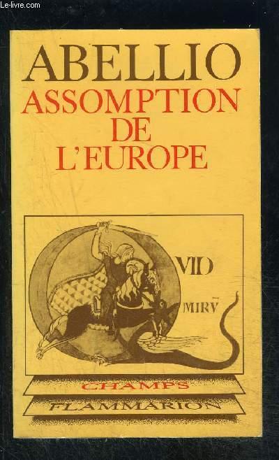 ASSOMPTION DE L EUROPE- COLLECTION CHAMPS N°49