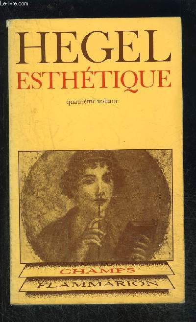 ESTHETIQUE- 4E VOLUME- COLLECTION CHAMPS N°75