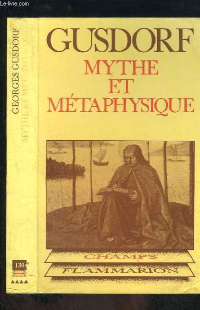 MYTHE ET METAPHYSIQUE- COLLECTION CHAMPS N°130