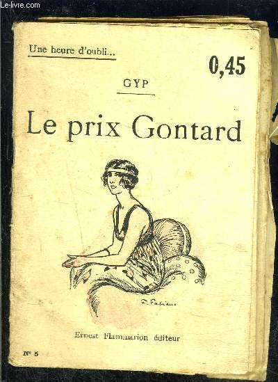 LE PRIX GONTARD- UNE HEURE D OUBLI... N°5
