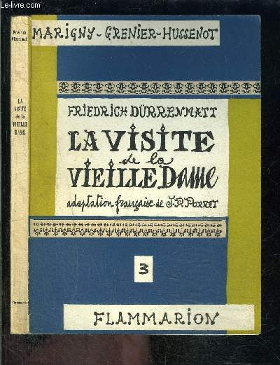 LA VISITE DE LA VIEILLE DAME - 3
