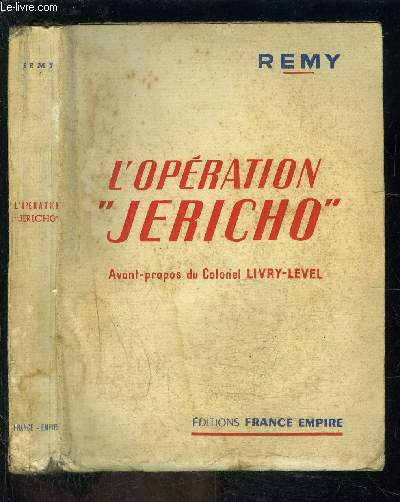 L OPERATION JERICHO