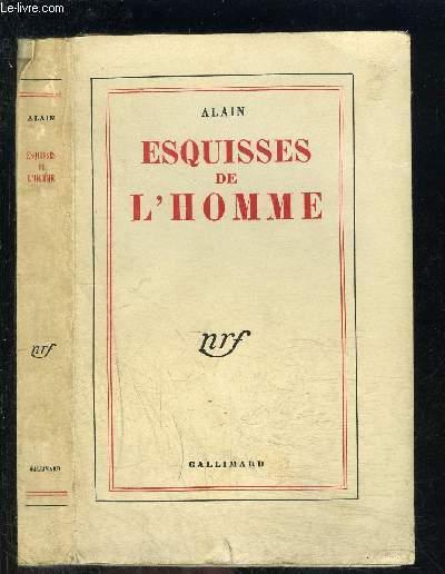 ESQUISSES DE L HOMME
