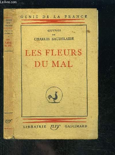 LES FLEURS DU MAL- GENIE DE LA FRANCE