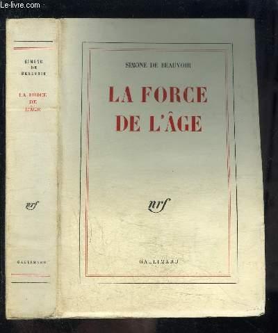 LA FORCE DE L AGE