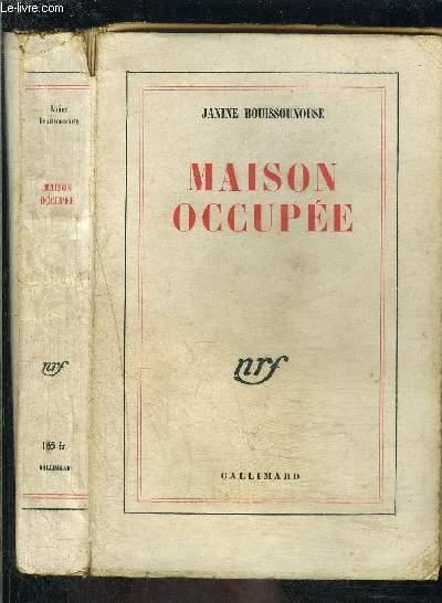 MAISON OCCUPEE