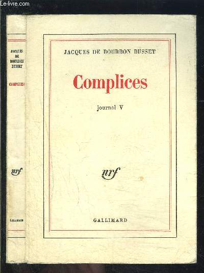 COMPLICES- JOURNAL V