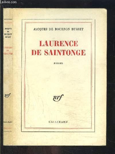 LAURENCE DE SAINTONGE