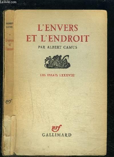 L ENVERS ET L ENDROIT / LES ESSAIS LXXXVIII