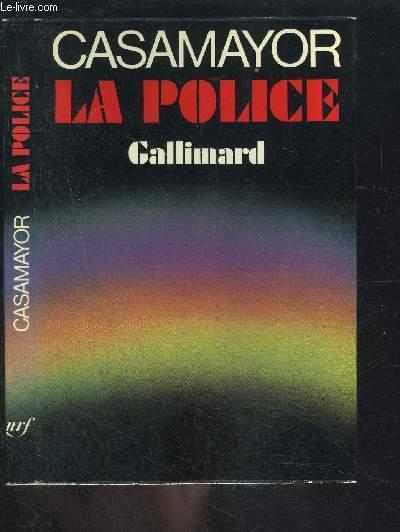 LA POLICE- ENVOI DE L AUTEUR