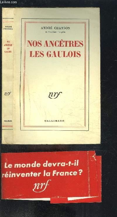 NOS ANCETRES LES GAULOIS