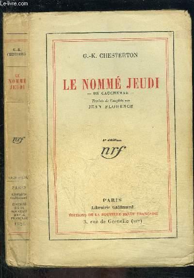 LE NOMME JEUDI- UN CAUCHEMAR