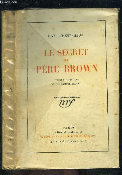LE SECRET DE PERE BROWN