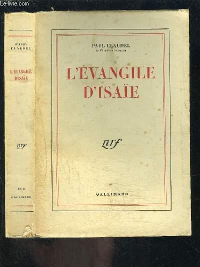 L EVANGILE D ISAIE
