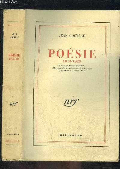 POESIE 1916-1923- LE CAP DE BONNE ESPERANCE- DISCOURS DU GRAND SOMMEIL- POESIES- VOCABULAIRE- PLAIN CHANT