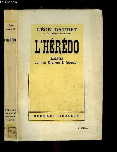 L HEREDO- ESSAI SUR LE DRAME INTERIEUR