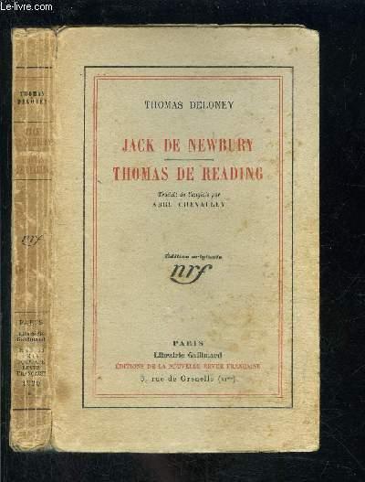 JACK DE NEWBURY- THOMAS DE READING