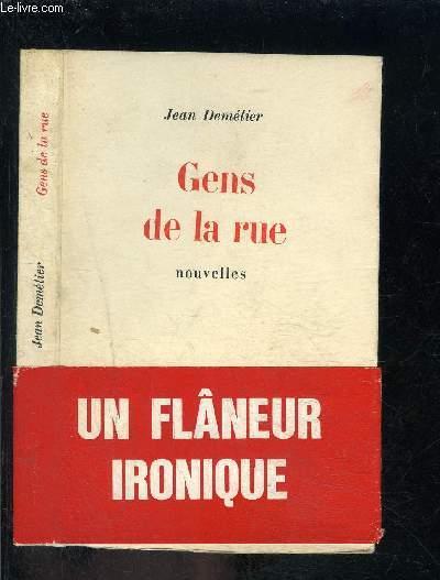 GENS DE LA RUE- NOUVELLES