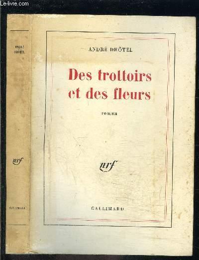 DES TROTTOIRS ET DES FLEURS