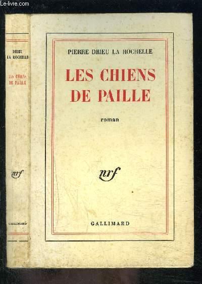 LES CHIENS DE PAILLE