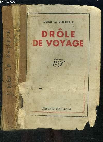 DROLE DE VOYAGE