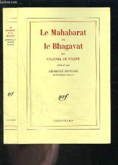 LE MAHARABAT ET LE BHAGAVAT DU COLONEL DE POLIER