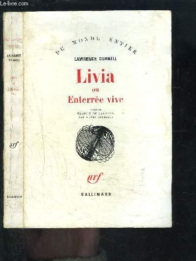 LIVIA OU ENTERREE VIVE