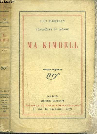 MA KIMBELL- CONQUETES DU MONDE