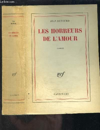 LES HORREURS DE L AMOUR