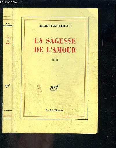LA SAGESSE DE L AMOUR