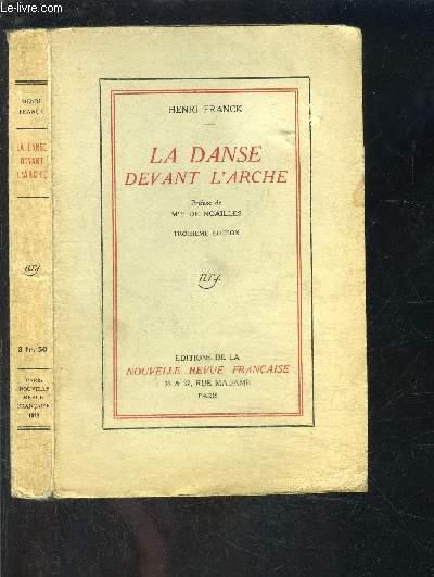 LA DANSE DEVANT L ARCHE