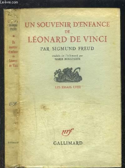 UN SOUVENIR D ENFANCE DE LEONARD DE VINCI