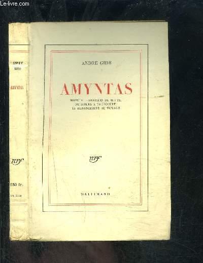 AMYNTAS- MOPSUS - FEUILLES DE ROUTE - DE BISKRA A TOUGGOURT - LE RENONCEMENT AU VOYAGE