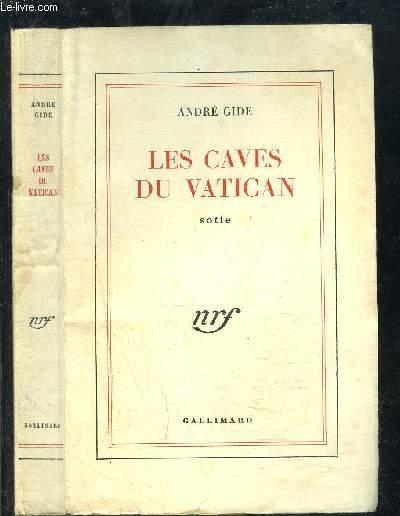 LES CAVES DU VATICAN- SOTIE