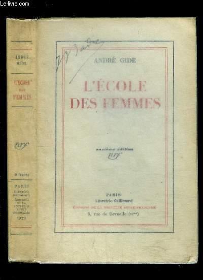 L ECOLE DES FEMMES