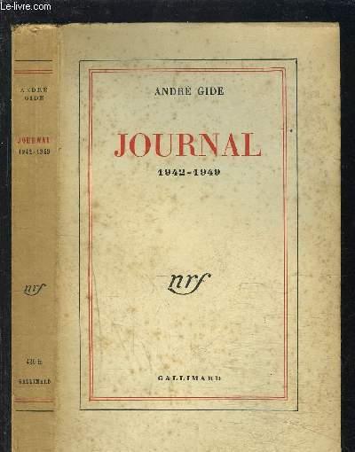 JOURNAL- 1942-1949