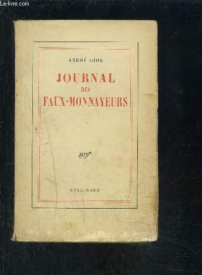 JOURNAL DES FAUX- MONNAYEURS