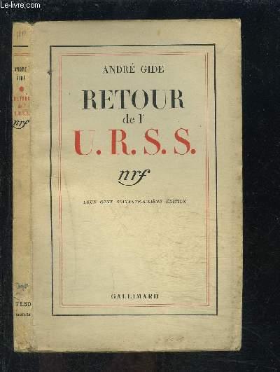 RETOUR DE L URSS