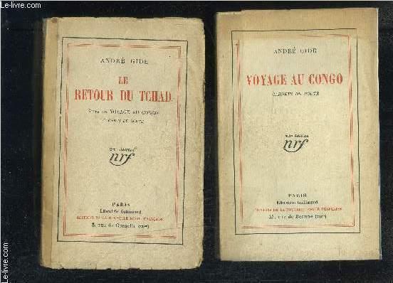VOYAGE AU CONGO / LE RETOUR DU TCHAD // CARNETS DE ROUTE- 2 VOLUMES