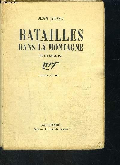 BATAILLES DANS LA MONTAGNE