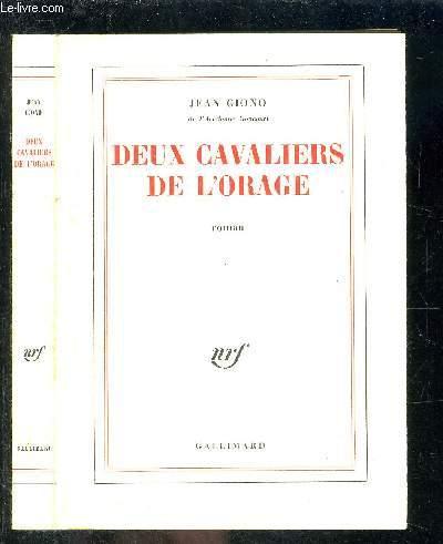 DEUX CAVALIERS DE L ORAGE