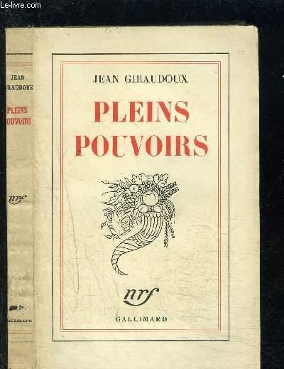 PLEINS POUVOIRS