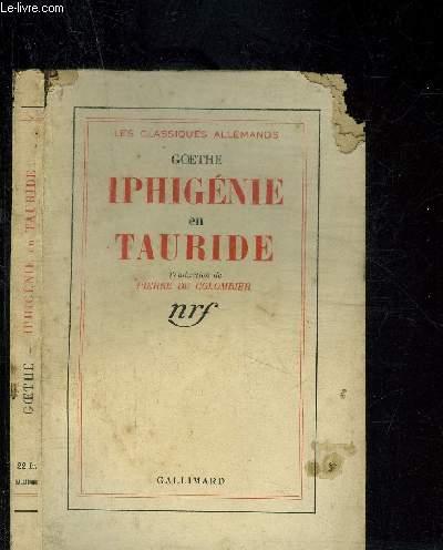 IPHIGENIE EN TAURIDE- LES CLASSIQUES ALLEMANDS
