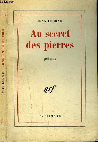 AU SECRET DES PIERRES