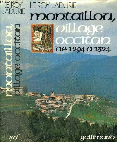MONTAILLOU VILLAGE OCCITAN DE 1294 A 1324
