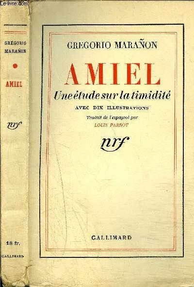 AMIEL : UNE ETUDE SUR LA TIMIDITE