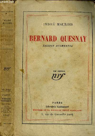 BERNARD QUESNAY