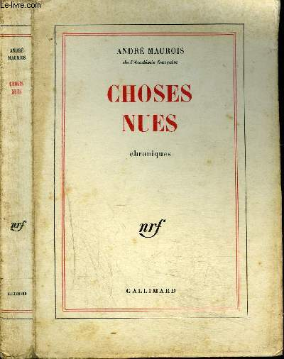 CHOSES NUES