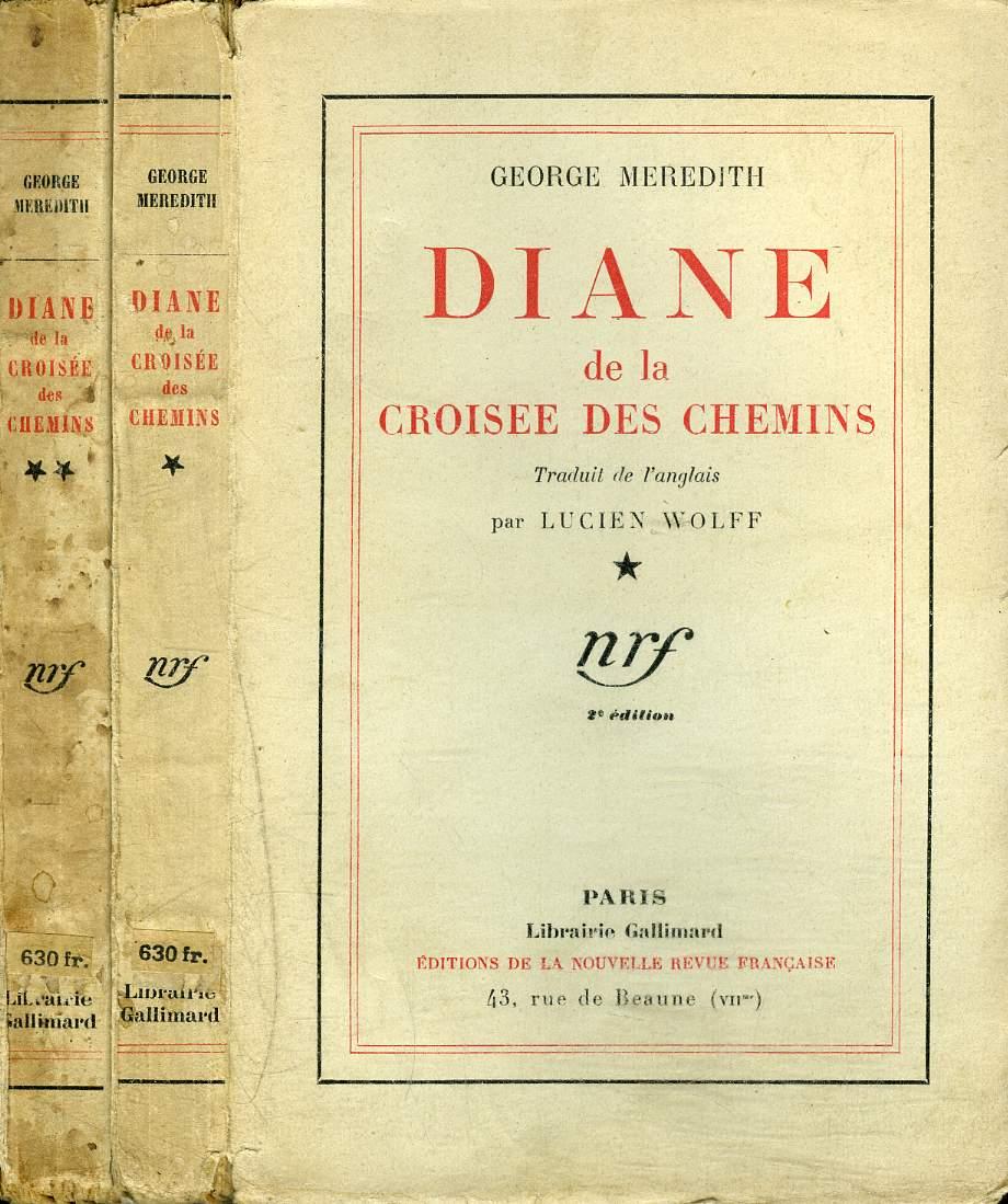 Diane de la croisée des chemins. Traduit de l'anglais par Lucien Wolff.
